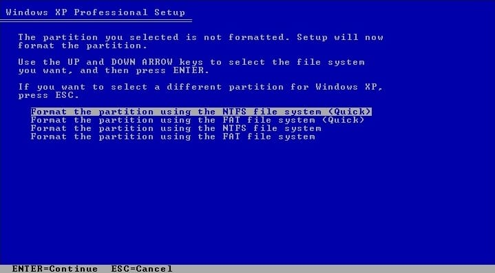 Clean-Install-Windows-XP-4
