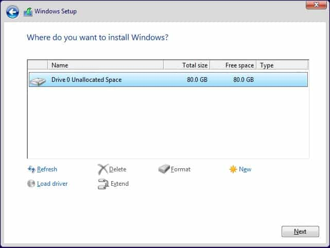 How To Perform a Clean Install of Windows 10  (6)