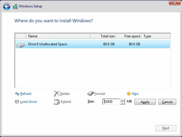 How To Perform a Clean Install of Windows 10  (7)
