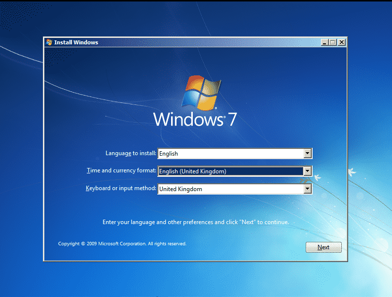 How to Install a Fresh Copy of Windows 7 (2)