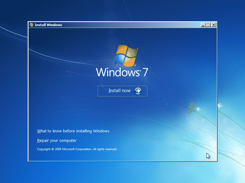 How to Install a Fresh Copy of Windows 7 (3)
