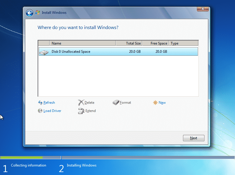 How to Install a Fresh Copy of Windows 7 (8)