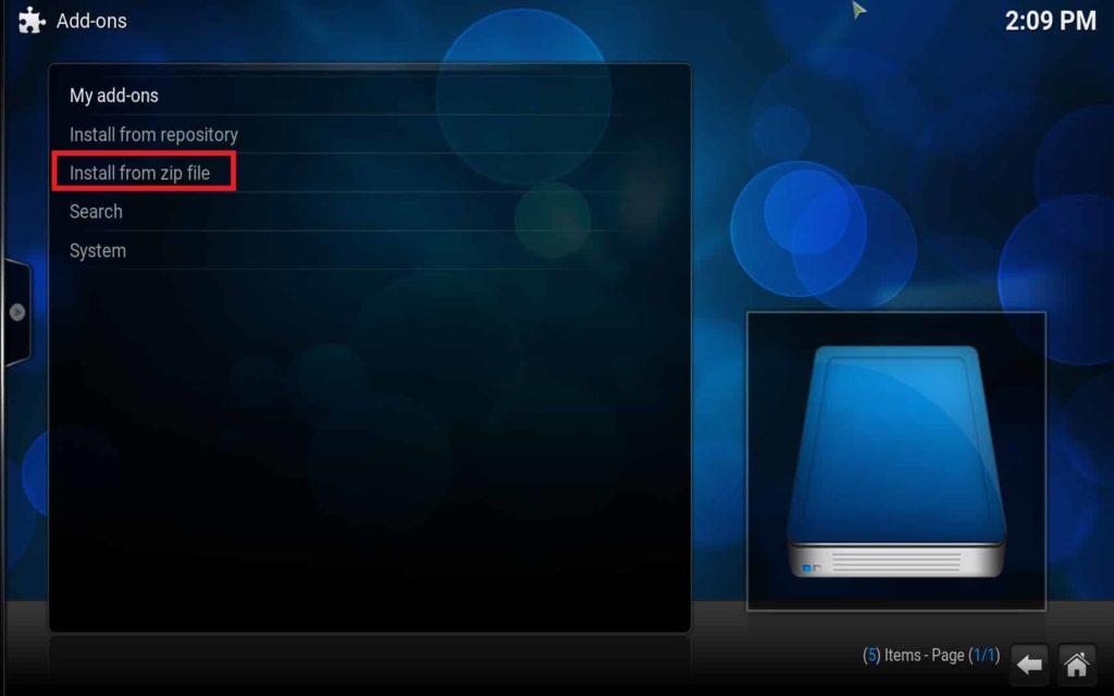 Install Fusion on Kodi (13)