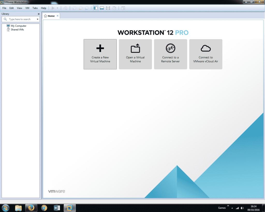 Install Windows 7 on VMware Workstation 12 (1)