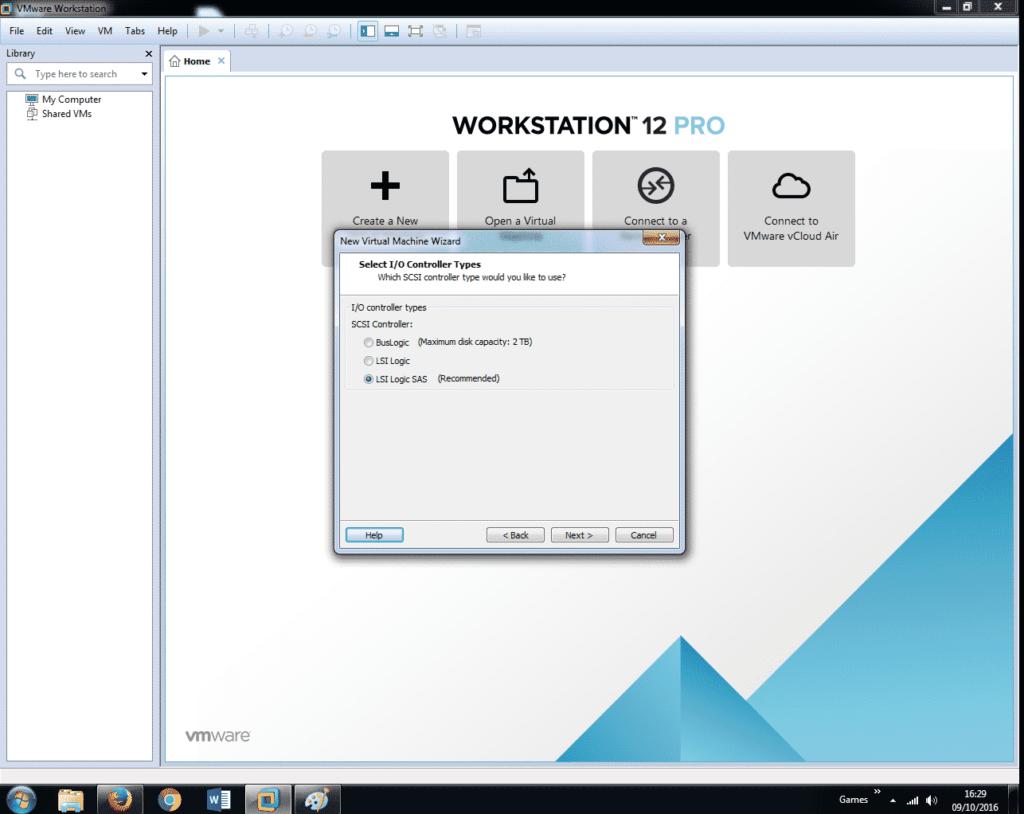 Install Windows 7 on VMware Workstation 12 (10)