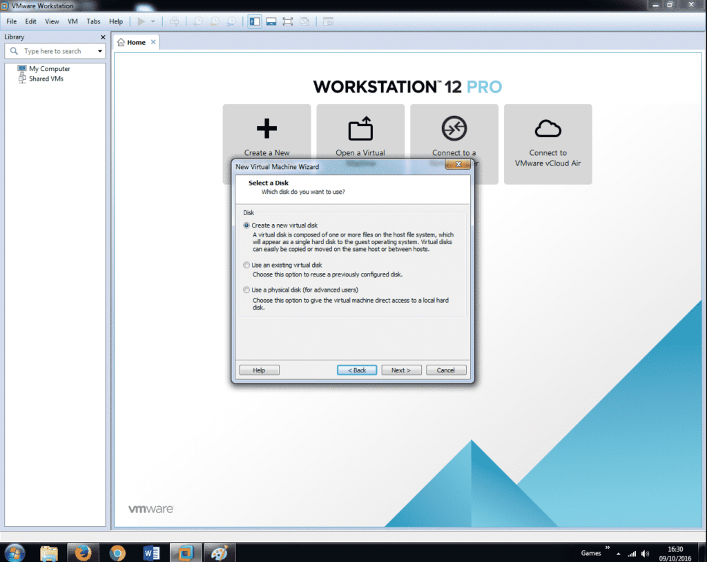 Install Windows 7 on VMware Workstation 12 (12)