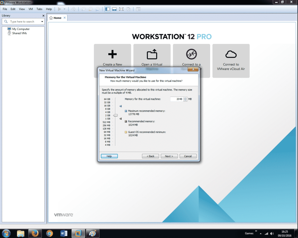Install Windows 7 on VMware Workstation 12 (8)