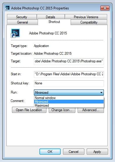Minimise Programs on Windows Startup 2