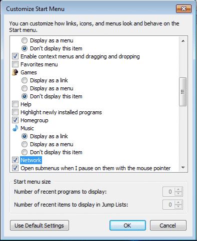 Start-Menu-Settings-7-Optimize Windows 7