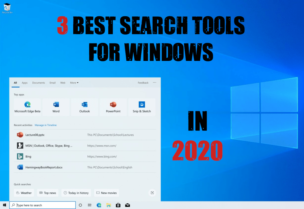 3 Best Search Tools For Windows in 2020