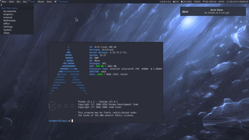 Custom Live Linux Distro