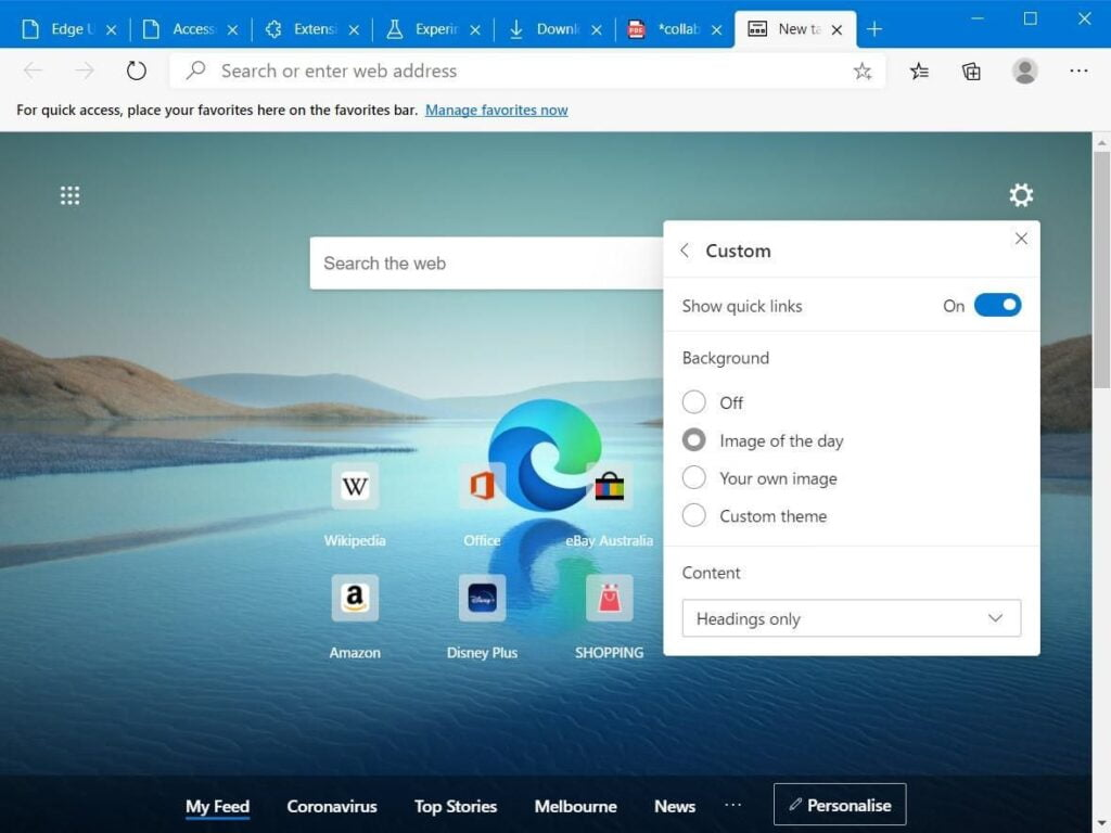 Microsoft Edge Tips and Tricks 3