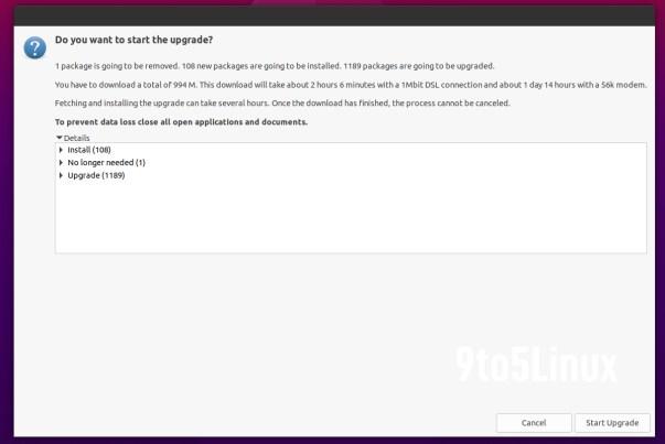 Upgrade Ubuntu 20.10